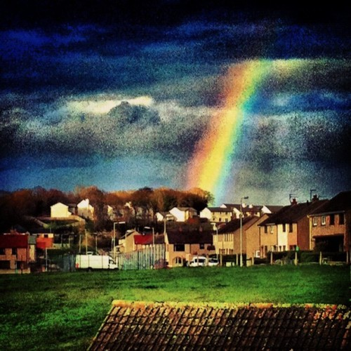 Rainbow mofo (Taken with Instagram)