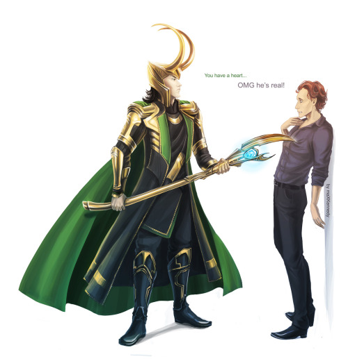 vampyrekat:  Tom Hiddleston: Loki's biggest fangirl.