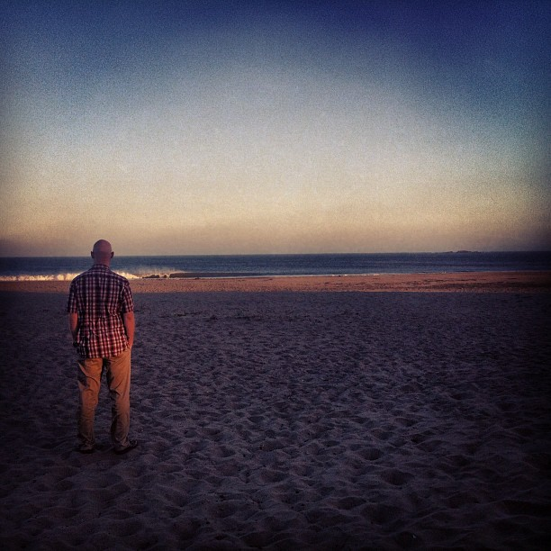 Looking out.  (Taken with Instagram at Doran Beach)