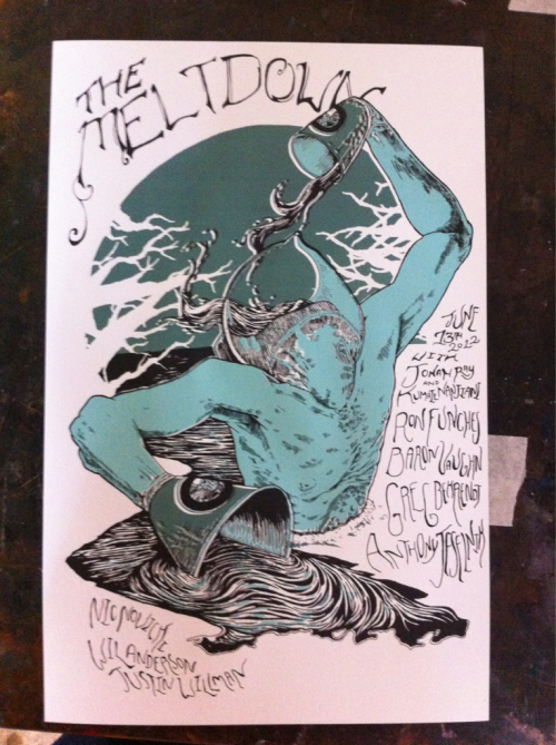 Tonight's Meltdown Poster.