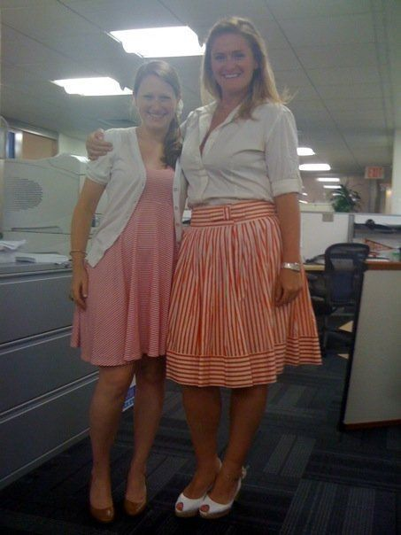 Hitting up the archive with a Candy Striper memo! We appreciate the backstory and honesty in this submission from Britney Greenhouse and Gillian Greaves, who were photographed as MEC staffers, but now are both employed by MediaVest. Or were in early March when the memo hit their desks. Hard to keep up under this mountain of memo submissions! We promise we'll keep getting through the archives, though, so if you submitted ages ago and gave up hope. Well, you may still be a maybe! (Please don't follow up to find out - we'll let you know.)