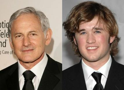 Saw Victor Garber and Haley Joel Osment filming a scene for 'I'll Follow You Down' on campus at McMaster today. Cool!