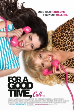 FOR A GOOD TIME CALL MOVIE POSTER for FOCUS FEATURES