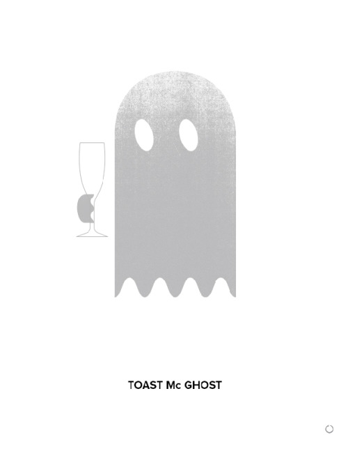 justin bauer / toast mcghost two / ghost art follow on tumblr / insta