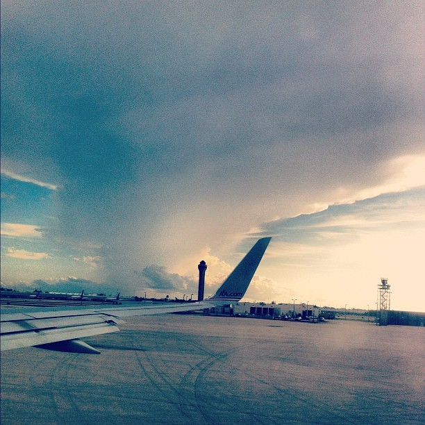 Not in Kansas anymore, #miamiairport #mia #airport #miami  (Taken with Instagram)