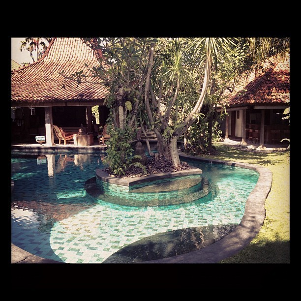 #bali #villa #pool (Taken with Instagram)