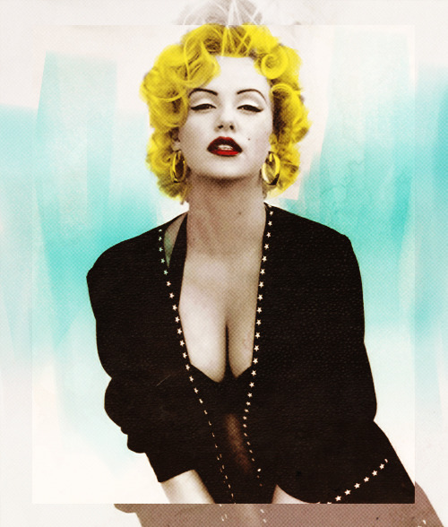 Charlize Theron as Marilyn Monroe
