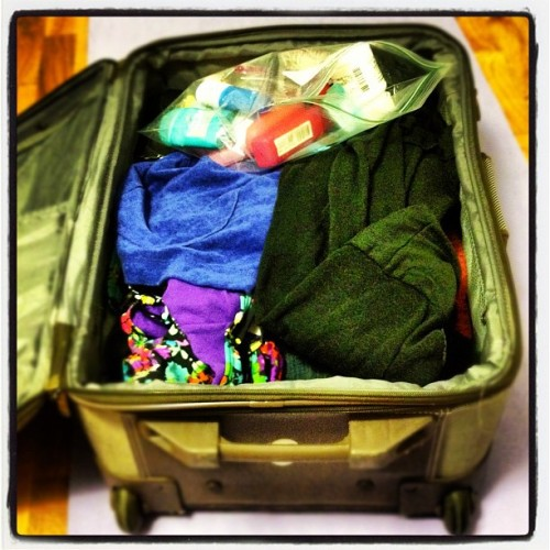 Hate. Packing. (Taken with Instagram)