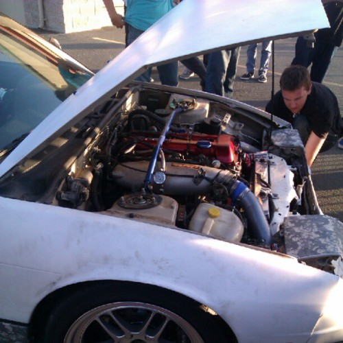 #s13 #sr (Taken with Instagram at Sears Point Raceway)