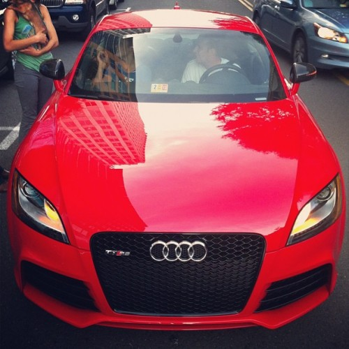 One rad ride: @Audi TT RS #cars #winning @jkrew @ohkate  (Taken with Instagram)