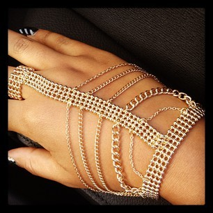 Arabian hand piece gold or silver $45…email shopluvmuse@gmail.com