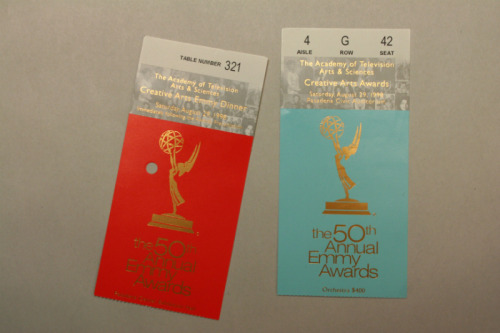 1998 Emmy Awards tickets