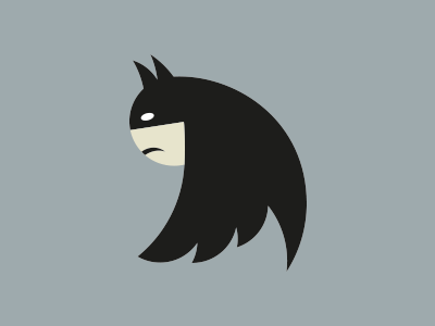 laughingsquid:  Turn the Twitter Logo Sideways & It Looks Like Batman
