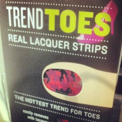 @lilnatali this reminded me of those camp heels you posted. :) #pedicure #nailart #sephora (Taken with Instagram)