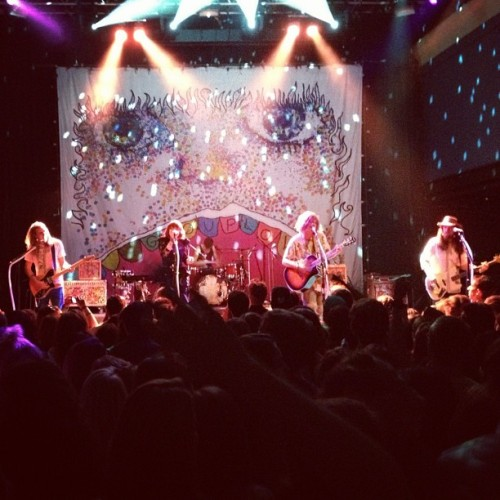 Grouplove with @kelcoh..danced so hard (Taken with Instagram at 9:30 Club)
