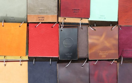 "How to Examine Quality in Leather Goods, Part I I recently had the good fortune of talking to Dave Munson and Frank Clegg – the two men behind Saddleback Leathers and Frank Clegg Leatherworks, respectively – about how to discern quality in leather goods. While many men at this point know how to judge the quality of suits, shoes, and even sweaters, few know how to tell if a bag or wallet is well made. So, given Dave and Frank's expertise in the field, I thought I'd ask them for their thoughts. This short-series will be covered in two articles. For today, we'll talk about how to examine the quality of leather itself.   The Basics of Leather Obviously, at its foundation, the quality of any leather good should be judged on the quality of the leather itself. As many already know, you should always shoot for full-grain leather, ideally one free of scars, blemishes, or fat deposits. Lotuff Leather has a good primer on how to look for these things. Other types of leather include top and split grains. These are made by splitting a piece of leather into two layers. The top (top-grain) is typically sanded down and finished with some kind of chemical processing. This is what we typically call corrected-grain leather, and while it's cheaper, it also has a colder, more plastic-like feel, and results in less breathability. Over time, it will also age less well and you won't get the nice patina that you would with full-grain leather. Split grain is what's left after the top-grain has been separated from the hide. This part is often made into suede or embossed with a print so that it looks like full-grain. Unlike true full-grain, however, it's often thinner and not as durable. Finally, we have bonded leather. This stuff is basically junk. Here, leftover scraps of leather are grounded with glue and then bonded together in a process similar to vinyl manufacture. It's basically to full-grain leather what particleboards are to solid wood. It neither looks nice nor lasts well. How Manufacturers Cheat So you know that full-grain should be preferred to top and split grain, and certainly to bonded leather. But this isn't enough, as manufacturers often cheat. How? Well first, there are semantics. A manufacturer can say that something is made from ""genuine leather"" when it's actually top or split grain, or even bonded leather. They're not lying. It is made from genuine leather. The other way is to say that something is ""made with full-grain leather"" when only part of it is. Again, they're not lying. A bag can be partly made with full grain leather, while something as cheap as vinyl is used for other parts. The other way to cheat is by buying full-grain leather that hasn't been processed fully. See, after a tannery removes the moisture, oils, and hair from an animal skin, they put it into giant drums with tanning solutions. These drums are expensive, however, and can cost upwards of $100,000. The tanning solutions they use can also be costly. To curb some of these expenses, some tanneries won't let the hides sit in the drums as long as they need to. That way, they can process more hides using fewer drums and less tanning solution. In the end, the leather on your products can fade and crack with too much sunlight. You can tell whether something has been fully tanned by looking at the edges. Assuming it hasn't been painted over with some type edge finishing, such leathers will appear blue in the middle, which shows that the tanning solution hasn't been allowed to soak through all the way. You can see this in the write up that Dave published on his website. When we spoke, I asked Dave whether such ""half-tanned"" leathers are really something you'd ever find on more expensive products. ""All the time,"" he said. ""Not all of them, of course, but if the company they outsource to is not carefully watched or if it is something that the brand is not aware of, then they'll be getting low quality leather that is hidden with rolled or painted edges to cover up the poorly tanned leather."" Dave also noted that this isn't something you tell just from the outside grain. The leather feels the same, but the middle will dry out and crack. The only way to tell is by looking at the edge and seeing if the middle is blue, but this also assumes that the edge hasn't already been covered. Takeaways In the end, if you're buying a leather good, you should aim for full-grain leather, but also make sure that the tannage has soaked through all the way. You may also want to ask the manufacturer whether the product was fully made with full-grain leather, and examine the skin for defects such as scars, blemishes, and fat deposits. Of course, many products will have some kind of defect somewhere. Often this will be done in places where the consumer can't see, such as the inside of a bag. This doesn't automatically discount the quality of the good, necessarily, but it is something you may want to consider if you're paying top-dollar for something. Come back Monday, when I'll talk about the quality of hardware that's often used, as well as a bit about the construction of leather goods.  (Pictured above: Leather swatches from Horween, one of the best tanneries in the world. Photo taken from Carryology)"