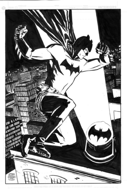 awyeahcomics:  Batman by Cliff Chiang  Cliff Chiang deserves all the awards, you guys.