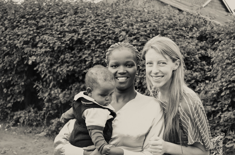 Jane and baby Ciru, two of my favorite people in Nairobi! Photography by mollyinkenya.