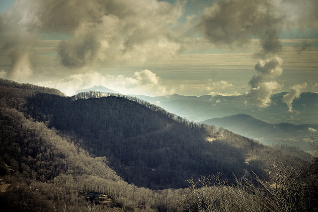 The Smokey Mountains by basheertome on Flickr.
