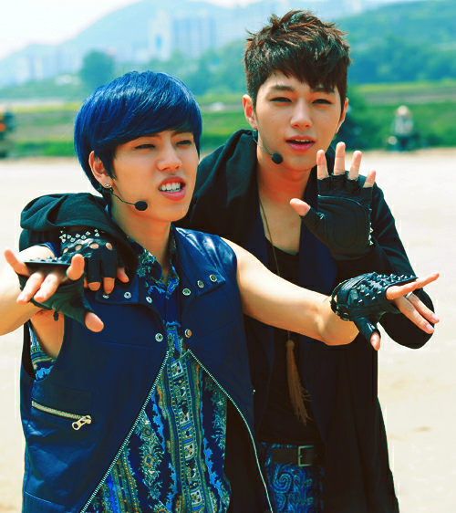 005/010 ships that be sailing forever → Jang Dongwoo / Kim Myungsoo