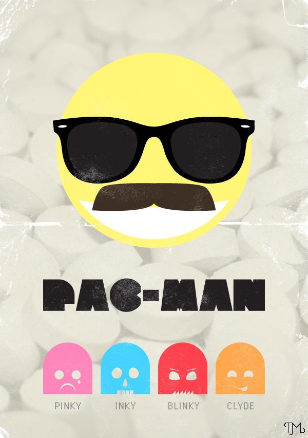 it8bit:  Pac-Man Created by Tim Madin