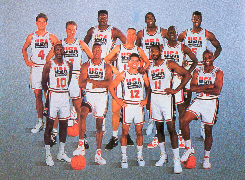 simplybasketball:  Today is the 20 Year Anniversary of the USA Dream Team
