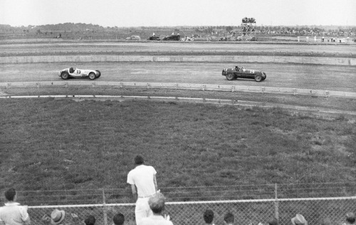 Vanderbilt Cup Race at Roosevelt Raceway, Long Island, in September of 1937.