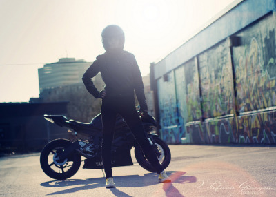 Keely and her Yamaha R6 by Stefanie Glasgow.  [ more photos tagged Keely | Yamaha ]