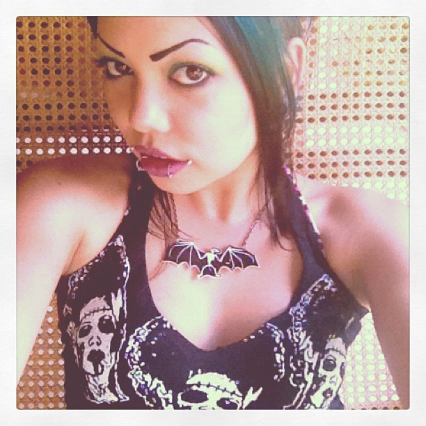 What up #Bali? #rockinbones #sugarpill #makeup #mac (Taken with Instagram at Villa Des Indes)