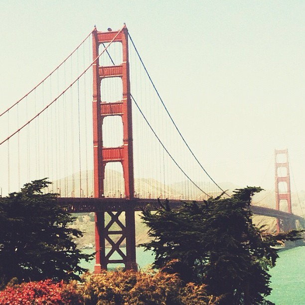 The city has been good to me.  (Taken with Instagram at Golden Gate Bridge)