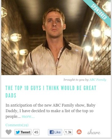 The Top 10 Guys I Think Would Be Great Dads by Torre Healy on HelloGiggles