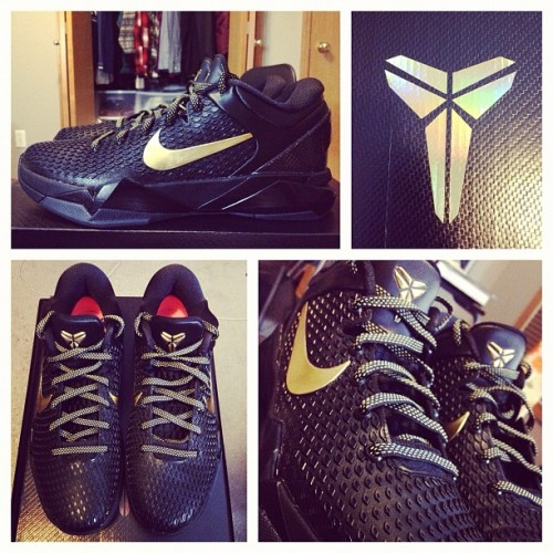 Finally new shoes for ball/gym. Long overdue. #nike #kobeVII #elite #kb24 #kobesystem #basketball  (Taken with Instagram)