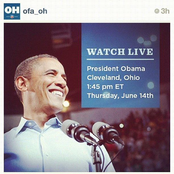 #regram www.BarackObama.com/Live (Taken with Instagram)