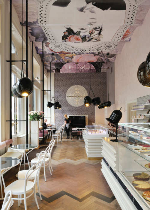 Designed by Trije Arhitekti, Lolita Cafe was completed in 2011, and this year it was nominated for Best International Interior in the Restaurant & Bar Design Awards.