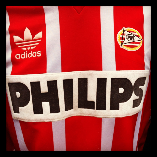 Shirt of the day: PSV, Adidas, 1991/2 courtesy of @benjilanyado