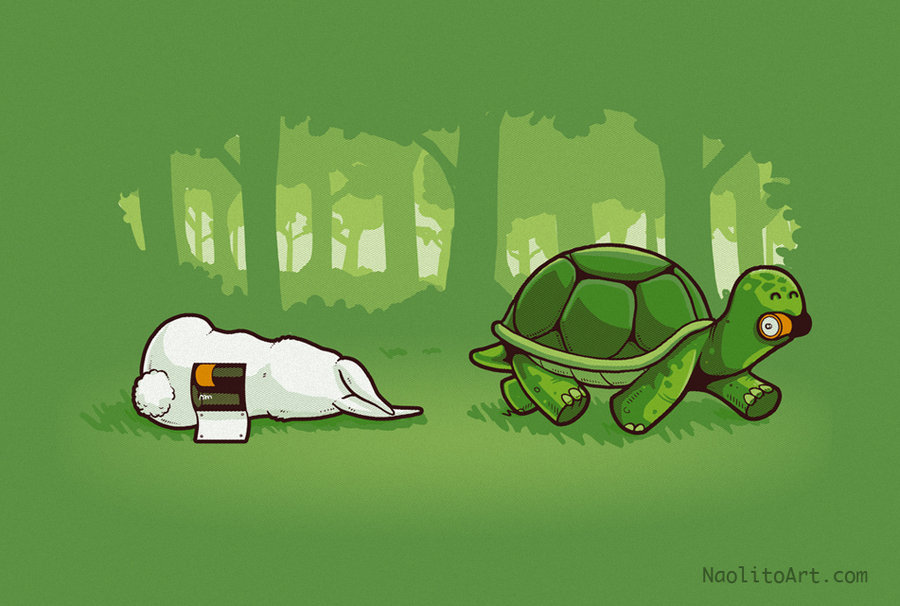 bluepantsdesign:  Smart turtle