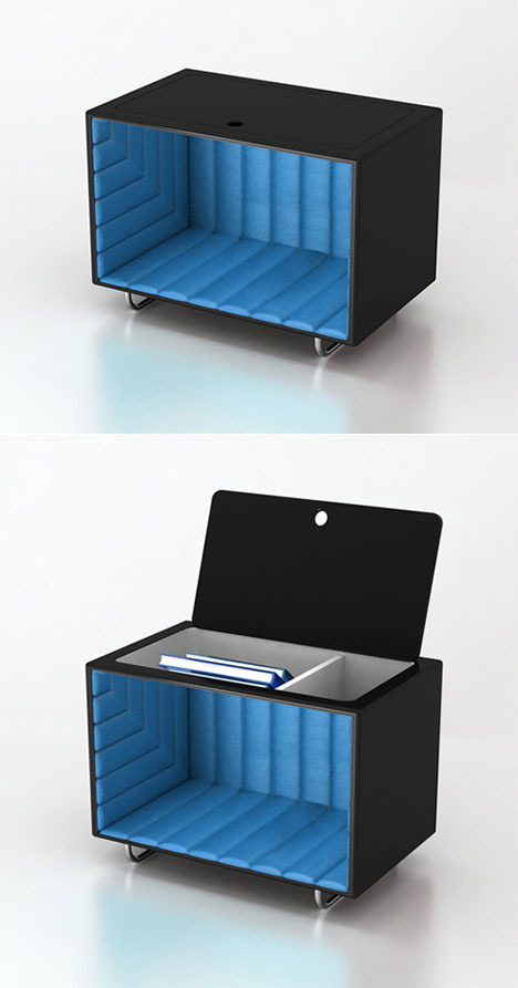 Hide&Seek Illusion chest (by Florent Coirier)