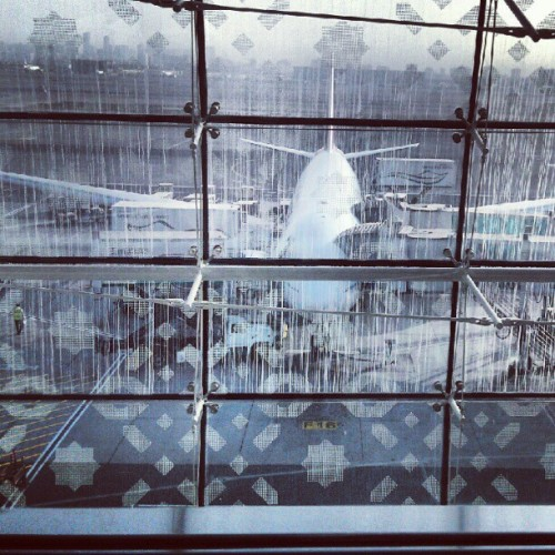 Dubai airport (Taken with Instagram)