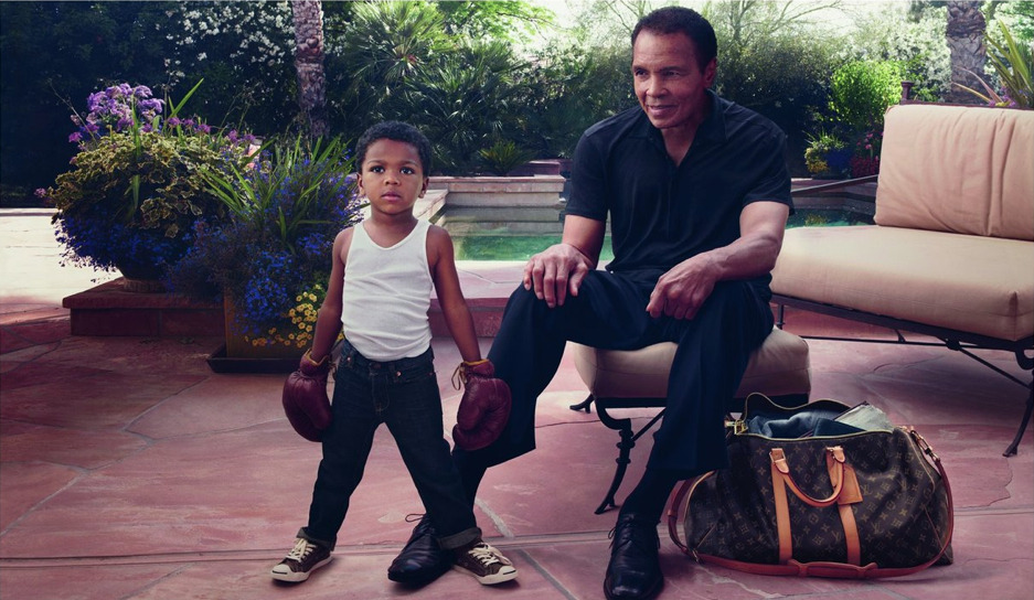 oystermag:  Muhammad Ali is the New Face of Louis Vuitton's 'Core Values' Campaign