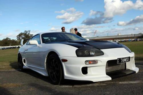 Toyota Supra Mark IV Photo by Street FX Motorsport & GraphicsDownshift Meet 09/06/12 - Rocklea Showgrounds