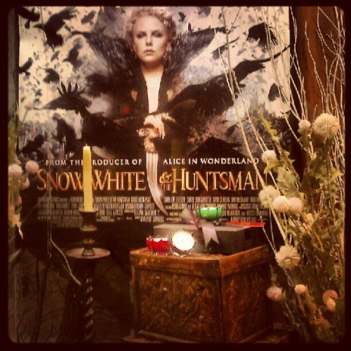 #snowwhiteandthehuntsman awesome movie (Taken with Instagram)