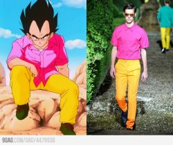 Fashion inspired by Vegeta