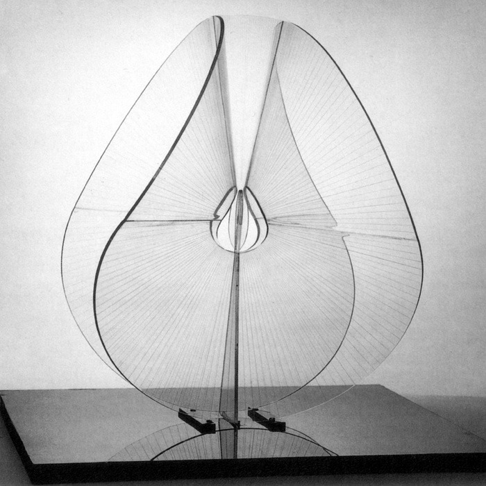 Naum Gabo.   Spheric Theme: Translucent Variation.  1937