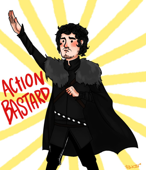 Action Bastard! Jon Snow!