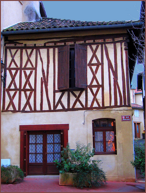 | ♕ |  Maison à colombages, 16th C. - Auch, France  | by © Pantchoa