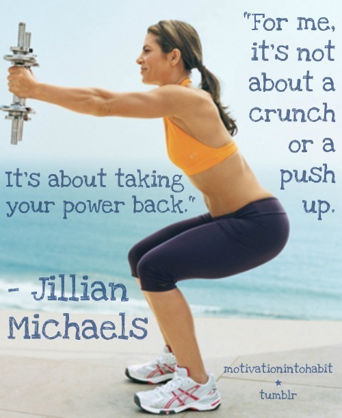 For me It's not About a Crunch or a Push up, It's About taking your power back