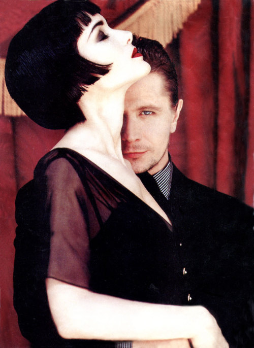 Winona Ryder and Gary Oldman, 1992