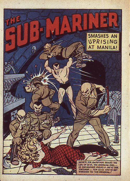 January 24, 1941 The Sub-Mariner Smashes Uprising At Manila