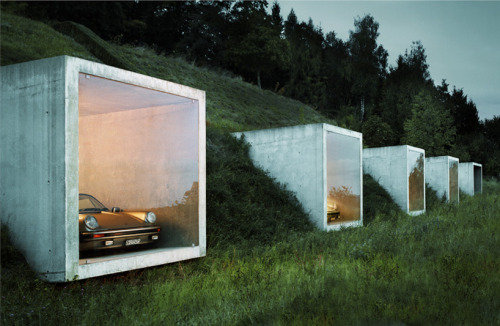 itsaboutinterior:  Car Park in Switzerland by Peter Kunz Architektur.