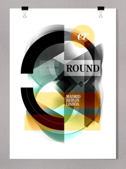 weandthecolor:  Outstanding Poster Design Selected graphics and poster design from different projects by freelance graphic designer Alberto Carballido from Madrid, Spain. The designer shows great skills in typography and graphic design for print products. Check out more of his artworks and graphics here. via: WE AND THE COLORFacebook // Twitter // Google+ // Pinterest